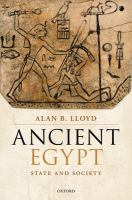 Ancient Egypt : state and society