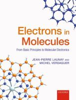 Electrons in molecules : from basic principles to molecular electronics