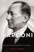 book cover image Marconi