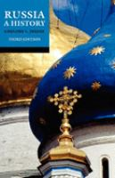 book cover image Russia: a history