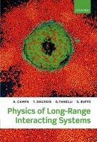 Physics of long-range interacting systems