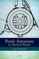 Poetic autonomy in ancient Rome