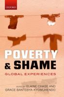 Poverty and shame : global experiences