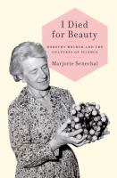 Book Cover for I Died for Beauty by Marjorie Senechal