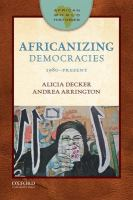 African world histories : Africanizing democracies, 1980-present