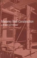Masonry wall construction [electronic resource]