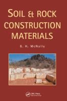 Soil and rock construction materials [electronic resource]