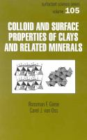 Colloid and surface properties of clays and related minerals [electronic resource]