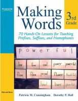 Making Words