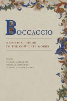 Boccaccio : a critical guide to the complete works