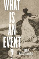 What is an event? /