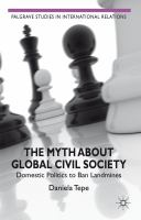 The myth about global civil society [electronic resource] : domestic politics to ban landmines
