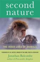 Second nature : the inner lives of animals