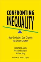 Confronting inequality : how societies can choose inclusive growth /