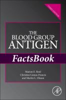The blood group antigen factsbook [electronic resource]
