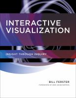 Interactive visualization : insight through inquiry