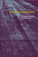 Elements of argumentation [electronic resource]