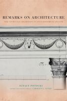 Remarks on architecture : the Vitruvian tradition in enlightenment Poland