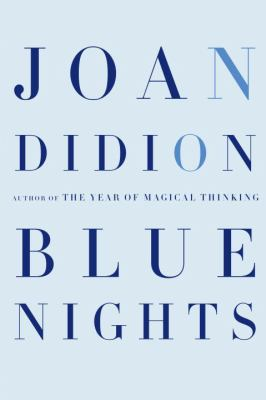 Cover art for Blue Nights
