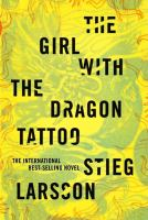 Cover of the book The girl with the dragon tattoo