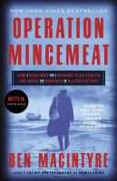 Operation Mincemeat.