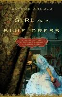 Book cover for Girl in a Blue Dress by Gaynor Arnold