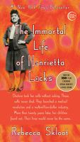Cover of the book The immortal life of Henrietta Lacks