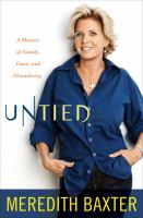 Untied : a memoir of family, fame, and floundering