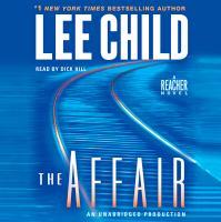 Cover of the book The affair [a Reacher novel]