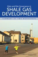 Risks and risk governance in shale gas development [electronic resource] : summary of two workshops