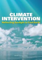 Climate Intervention : reflecting sunlight to cool Earth