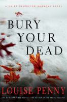 Cover of the book Bury your dead