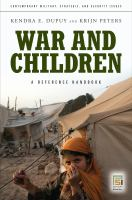 War and children : a reference handbook