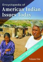 Encyclopedia of American Indian issues today [electronic resource]
