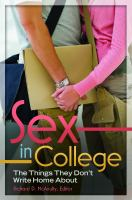 Sex in college : the things they don