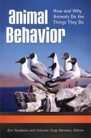 Animal behavior : how and why animals do the things they do