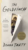 The goldfinch [text (large print)] : a novel