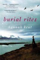 Cover of the book Burial rites a novel