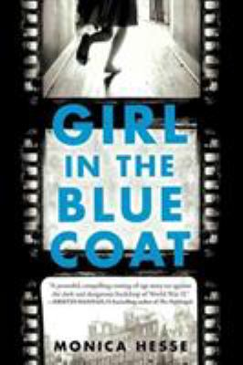 The Girl in the Blue Coat by Monica Hesse (book cover)