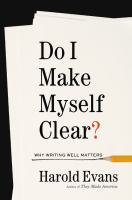book cover image Do I Make Myself Clear?