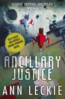 Cover of the book Ancillary justice