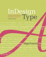 InDesign type : professional typography with Adobe InDesign