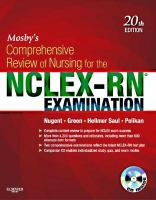 Mosby's Comprehensive Review of Nursing for the NCLEX-RN Examination