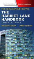 The Harriet Lane handbook : a manual for pediatric house officers