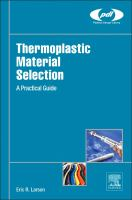 Thermoplastic material selection [electronic resource] : a practical guide