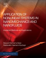 Application of nonlinear systems in nanomechanics and nanofluids [electronic resource] : analytical methods and applications