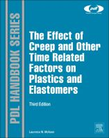 The effect of creep and other time related factors on plastics and elastomers [electronic resource]