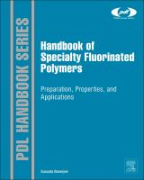 Handbook of specialty fluorinated polymers [electronic resource] : preparation, properties, and applications