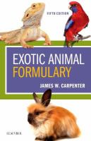 Exotic animal formulary /