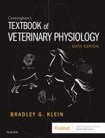 Cunningham's textbook of veterinary physiology /